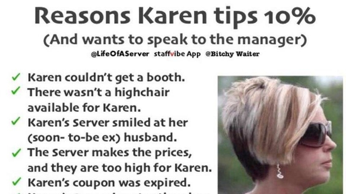 10 Memes Of Karen The Infamous Speak To The Manager Haircut Know Your Meme