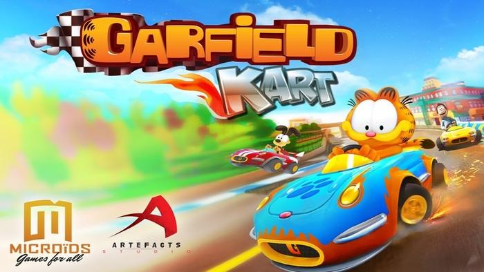 Garfield Kart Know Your Meme
