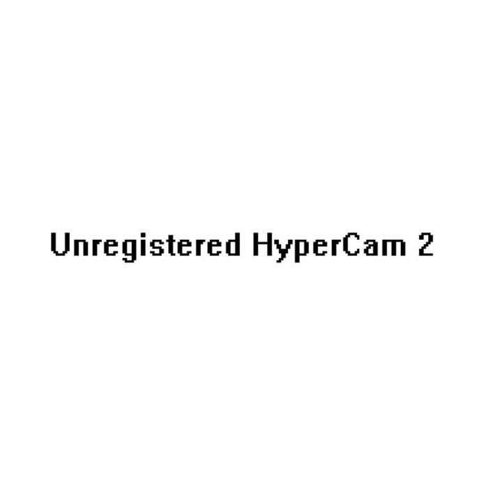 UNREGISTERED HYPERCAM 2 TÉLÉCHARGER