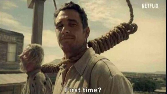 """James Franco """"First Time?"""" 