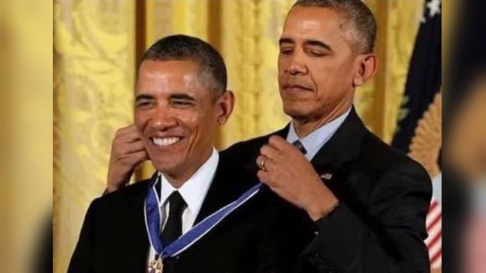 Obama medal meme