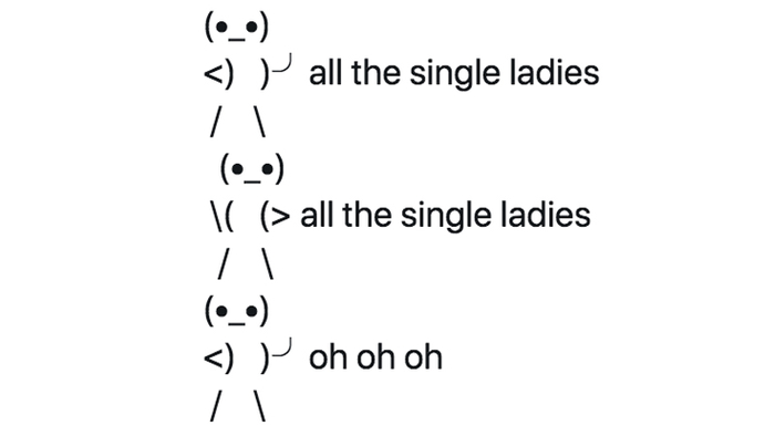 Single and emoji copy the paste ladies all Emoji: The