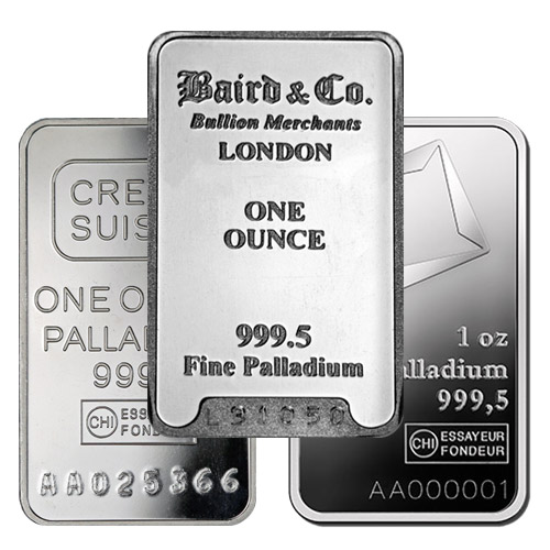 Image result for palladium bullion bar