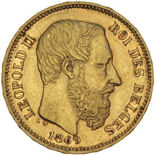 20 Francs Belgium Gold Coin Circulated