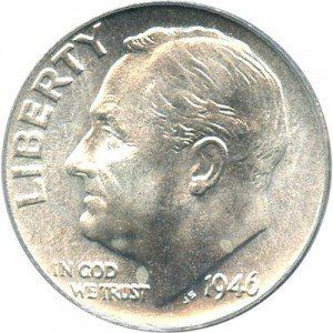 First Produced In 1946 The Roosevelt Dime Was An Immediate Hit Post Wwii America Nowadays Coins Are Valued Due To Their Silver Content