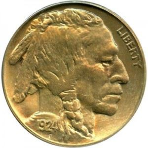 f9e0a66aa76c 1924 Buffalo Nickel Value