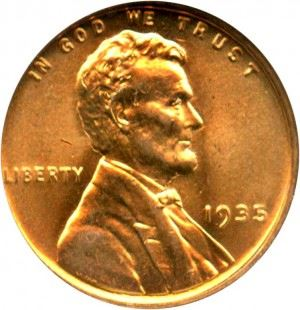 1935 Lincoln (Wheat) Penny Value | JM Bullion™
