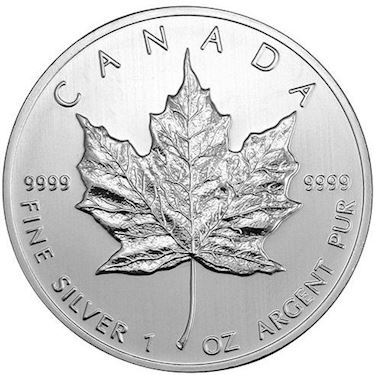 Buy 2009 Canadian Silver Maple Leafs Bu L Jm Bullion