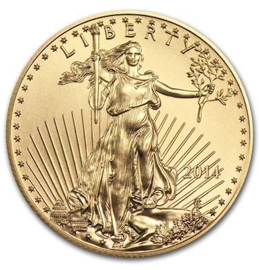 1 4 Oz American Gold Eagle Random Year