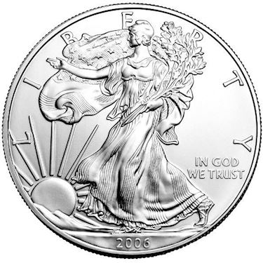 2006 American Silver Eagles Us Mint