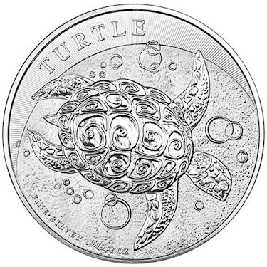 Buy 2015 2 oz New Zealand Silver Niue Hawksbill Turtle Coins