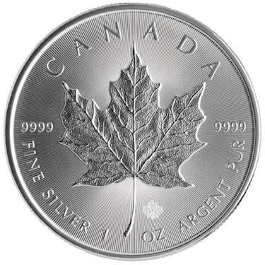 2017 Canadian Silver Maple Leafs