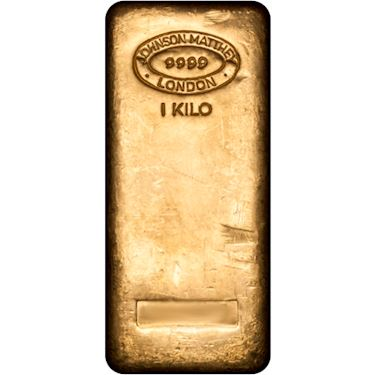 1 Kilo Johnson Matthey Gold Bar