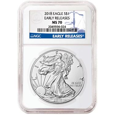 2018 5 American Gold Eagle Ngc Ms70 First Day Issue Core Zoom