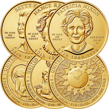 1 2 Oz Us Mint First Spouse Gold Coins