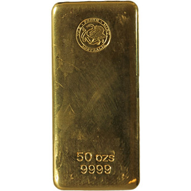 50 Oz Gold Bar Varied Condition Any