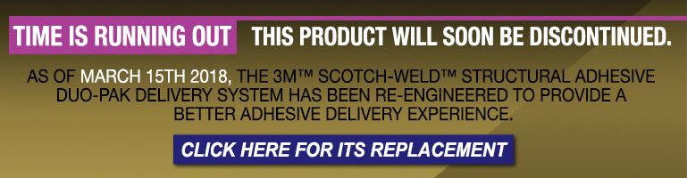 3M Scotch-Weld DP125 Epoxy Adhesive 87211, 50 ml Cartridge